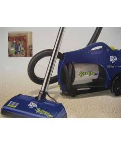 Shop Dirt Devil Breeze Canister Vacuum W Power Nozzle Plum Color Refurbished Overstock 2196691