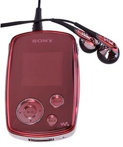 Thumbnail 1, Sony Walkman Pink NWA1000P 6GB MP3 Player.