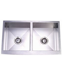 Farmhouse 33-inch Stainless Steel Undermount Kitchen Sink - Thumbnail 0