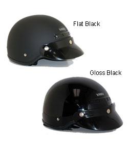 Deluxe Motorcycle Half Helmet
