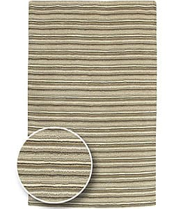 Thumbnail 1, Hand-crafted Aran Wool Rug (8' x 11').