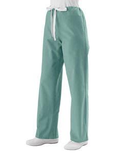 Medline Misty Green Unisex Drawstring Scrub Pants