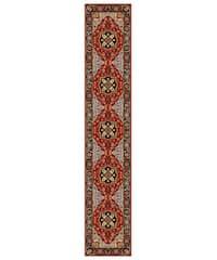 Safavieh Lyndhurst Traditional Oriental Red/ Black Runner Rug - 2'3 x 12'