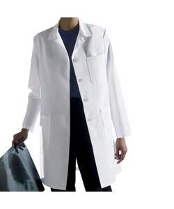 Medline Women's Staff Length Lab Coat with Princess Seam