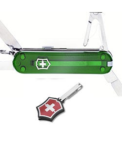 Swiss Army Manager Emerald Knife - Thumbnail 0