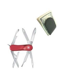 Wenger Evolution 88 Pocket Knife with Money Clip - Thumbnail 0