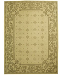 Safavieh Beaches Natural/ Brown Indoor/ Outdoor Rug - 7'10 x 11'