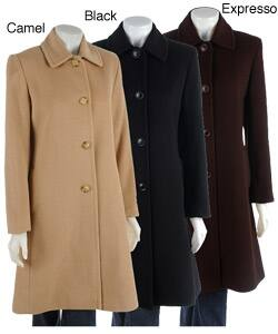 official supplier clients first pick up Larry Levine Camel Hair Coat | Overstock.com Shopping - The Best Deals on  Coats