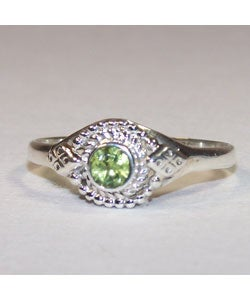 Handmade Peridot Ring (India)