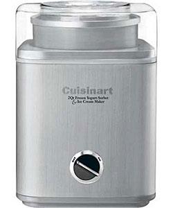 Cuisinart Stainless Steel Ice Cream Maker (Refurbished)