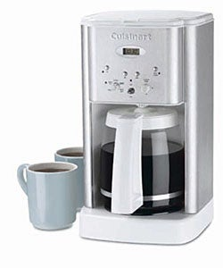 Cuisinart Coffee Maker In White : Cuisinart DCC-1200WFR White Coffee Maker (Refurbished) - Free Shipping Today - Overstock.com ...