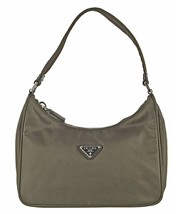 9cfc82bfdd Shop Prada Nylon Hobo Bag - Free Shipping Today - Overstock - 2478563