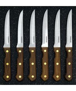 Shop Farberware Pro Wood Handle 6 Piece Knife Set Free