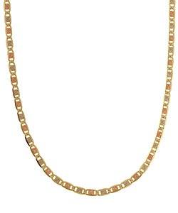 14k Tri-tone Gold 16-inch Valentino Necklace