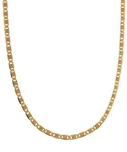 14k Tri-tone Gold 18-inch Valentino Necklace