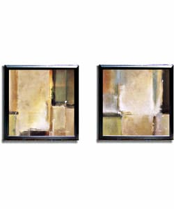 Noah Li-Leger Calm Waters Framed Canvas Art Set