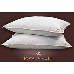 Shop Royal Velvet Milan Feather And Down Pillow Set Of 2