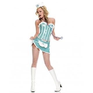 Fancy Hospital Nurse Three Piece Party Costume