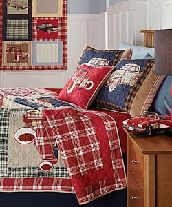 Shop Classic Cars Quilt Set Free Shipping Today