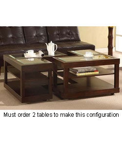 L Shaped Contemporary Accent Table Free Shipping Today 10776812