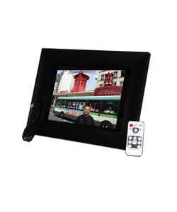 Black Wood 10.4-inch 1GB Digital Photo Frame