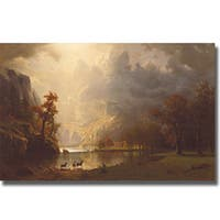 Sierra Nevada Morning Stretched Canvas Art