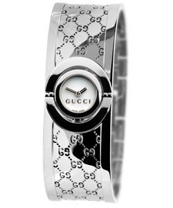 Gucci 112 Twirl Women's Stainless Steel Watch