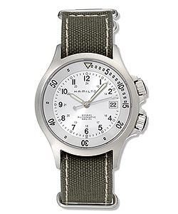 Thumbnail 1, Hamilton Khaki Navy Men's Automatic Steel Watch.