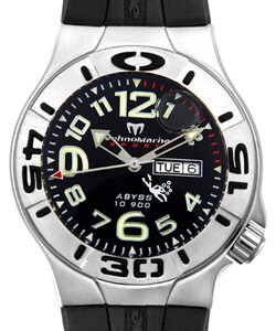 Thumbnail 1, Technomarine Men's Abyss 10.900 Diving Watch.