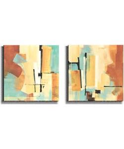 Noah Li-Leger Desert Oasis Stretched Canvas Set