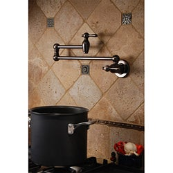 Shop Fontaine Transitional Style Pot Filler Faucet Free
