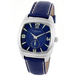 Stuhrling Original Men's Blue Swiss Quartz Watch|https://ak1.ostkcdn.com/images/products/P10808976a.jpg?impolicy=medium