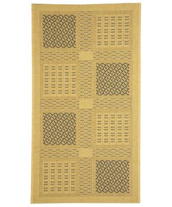 Safavieh Lakeview Natural/ Blue Indoor/ Outdoor Rug - 2'7 x 5'