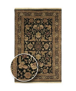 Hand-Knotted Legacy Collection Wool Area Rug (5'6 x 8'6) - Thumbnail 0