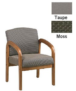 Office Star Medium Oak Visitors Chair