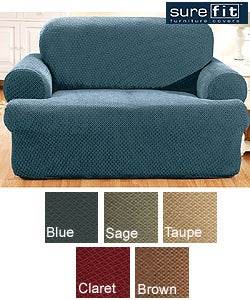 Sure Fit Stretch Modern T-cushion Sofa Slipcover - Thumbnail 0