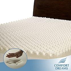 Thumbnail 1, Comfort Dreams Highloft 3-inch Memory Foam Mattress Topper.