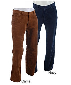 Rampage Men's Solid Corduroy Boot Cut Pants - Free Shipping On ...