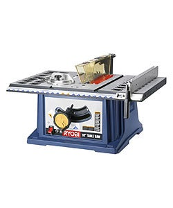 Factory reconditioned ryobi zrrts10 10 inch table saw with for 10 inch table saws for sale