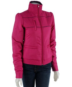 Puma Women's Nylon Jacket - Thumbnail 0