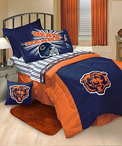 Chicago Bears Comforter And Sheet Set