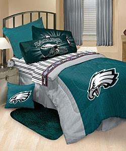 Philadelphia Eagles Comforter and Sheet Set | Overstock.com Shopping - The  Best Deals on Kids Bed-in-a-Bag