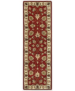 Elite Traditional Handmade Wool Rug Runner (2'6 x 8')