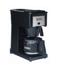 Bunn Basic Black Stainless Steel 10-cup Home Pourover Brewer