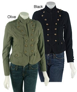 Women&39s Military Jacket with Buttons - Free Shipping On Orders