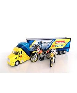 Suzuki/Makita Ricky Carmichael Racing Model Set - Thumbnail 0