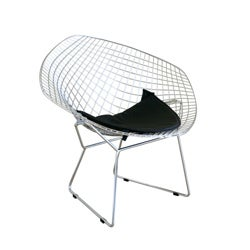 Thumbnail 1, Rupert Chrome Steel Chair with Leatherette Seat Pad.