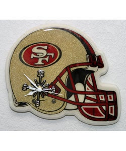 San Francisco 49ers Helmet Clock