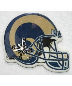 Rams Helmet Clock