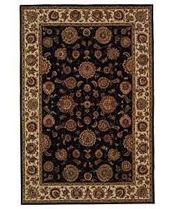 Safavieh Handmade Legends Plum/ Ivory Wool and Silk Rug (5' x 8') - 5' x 8' - Thumbnail 0